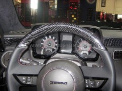 Standard Steering wheel with Carbon Fiber top (M6 or Auto)
